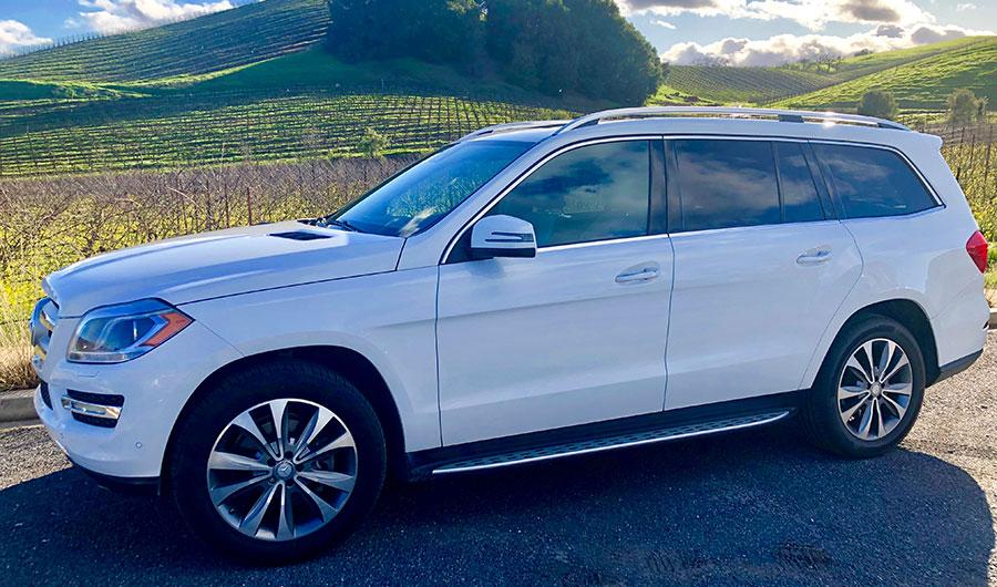 Private Wine Drivers Luxury Mercedes SUV